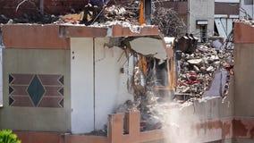Procédure de construction de démolition banque de vidéos