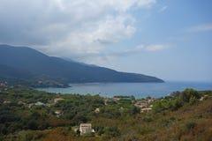 Procchio en Elba Island Foto de archivo