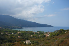 Procchio i Elba Island Arkivfoto