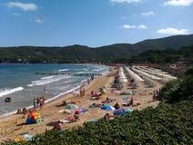 Procchio Isola De厄尔巴岛意大利 免版税图库摄影