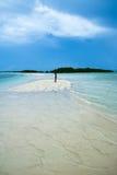 Procedi serpeggiando l'isola Fotografia Stock Libera da Diritti
