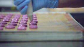 Procedimento de fabricação dos bolinhos de amêndoa filme
