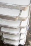 Procedimento del latice di gomma per la produzione dello strato di gomma Immagini Stock