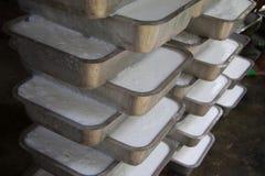 Procedimento del latice di gomma per la produzione dello strato di gomma Immagine Stock Libera da Diritti