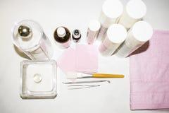 Procedimentos da cosmetologia Fotografia de Stock