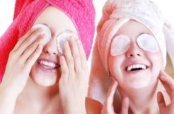 Procedimientos cosméticos Foto de archivo libre de regalías