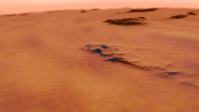 Procedural generated image of Mars Stock Image