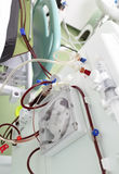 Procedure in artificial kidney machine Royalty Free Stock Photos