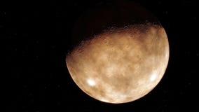 Procedure geproduceerd beeld van Mars Royalty-vrije Stock Foto's