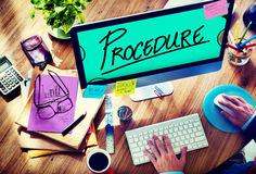 Procedure Method Strategy Process Step Concept Royalty Free Stock Images