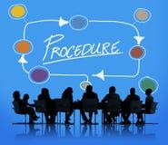 Procedure Method Strategy Process Step Concept Stock Photo