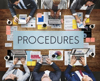 Procedures Process Steps System Concept Stock Photography