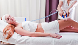 Procedures in spa clinic Royalty Free Stock Photography