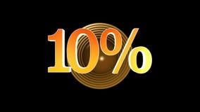 10 procentów premia ilustracji