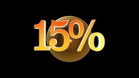 15 procentów premia ilustracji