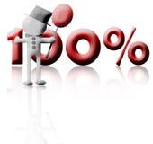 procent Royaltyfria Foton
