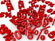 procent Fotografering för Bildbyråer