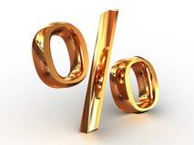 procent Obrazy Stock
