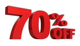 70 procent av royaltyfri illustrationer