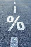 procentsats Royaltyfri Foto