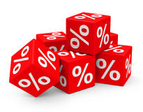 procentsats stock illustrationer