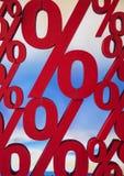 procentsats Arkivbild
