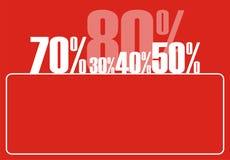 procentsats för tillväxt 5 Royaltyfri Foto