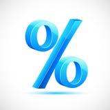 procentsatstecken vektor illustrationer