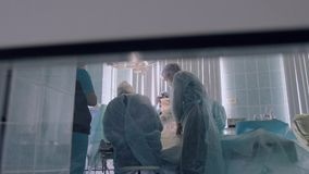 Proces chirurgicznie operacja w szpitalu zbiory wideo