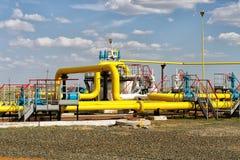 proces gaz jednostka Obrazy Royalty Free