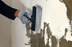 Proces kit betonowa ściana Obraz Royalty Free