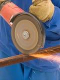 proces metalu ostrze Obraz Royalty Free