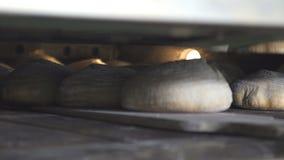 Proces piec chleb w piekarni zbiory