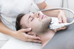 Proces przy kliniki lipomassage zdjęcia royalty free