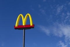 Proces tegen McDonald Royalty-vrije Stock Foto