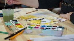 Proces tworzyć rysunek ptak