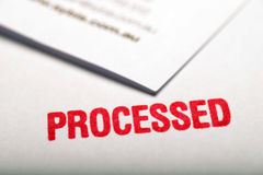 1 procesado Imágenes de archivo libres de regalías