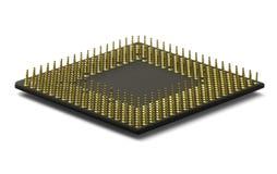 Procesador de la CPU Fotos de archivo