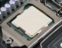 Procesador del ordenador Foto de archivo libre de regalías