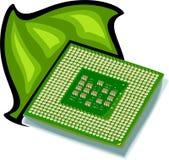Procesador del ordenador Fotografía de archivo libre de regalías
