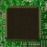 Procesador y componentes electrónicos fotos de archivo libres de regalías