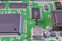 Procesadores y chips de memoria Fotos de archivo