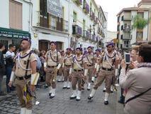 Procesión de Domingo de Ramos Fotografía de archivo