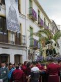 Procesión de Domingo de Ramos Foto de archivo