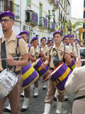 Procesión de Domingo de Ramos Imagenes de archivo