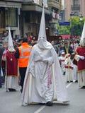Procesión de Pascua en Córdoba, España Fotografía de archivo libre de regalías