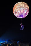 Procesión del carnaval de la abertura en Venecia, Italia 1 Imagen de archivo libre de regalías