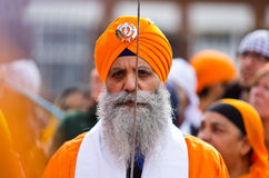 Procesión del sikh de Nagar Kirtan Fotografía de archivo
