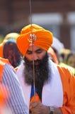 Procesión del sikh de Nagar Kirtan Foto de archivo