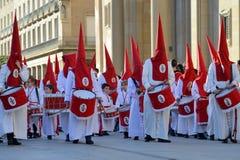 Procesión del Viernes Santo, España Fotos de archivo libres de regalías